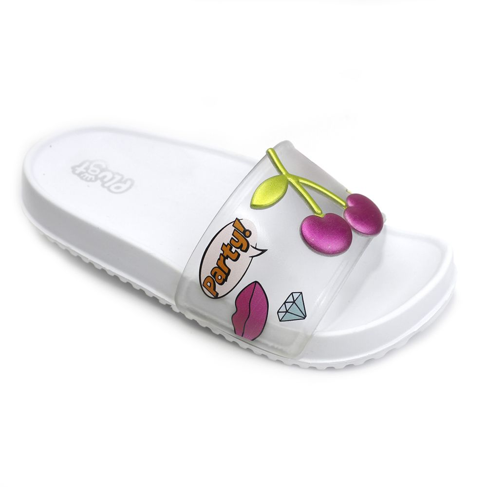 Chinelo Slide Cereja