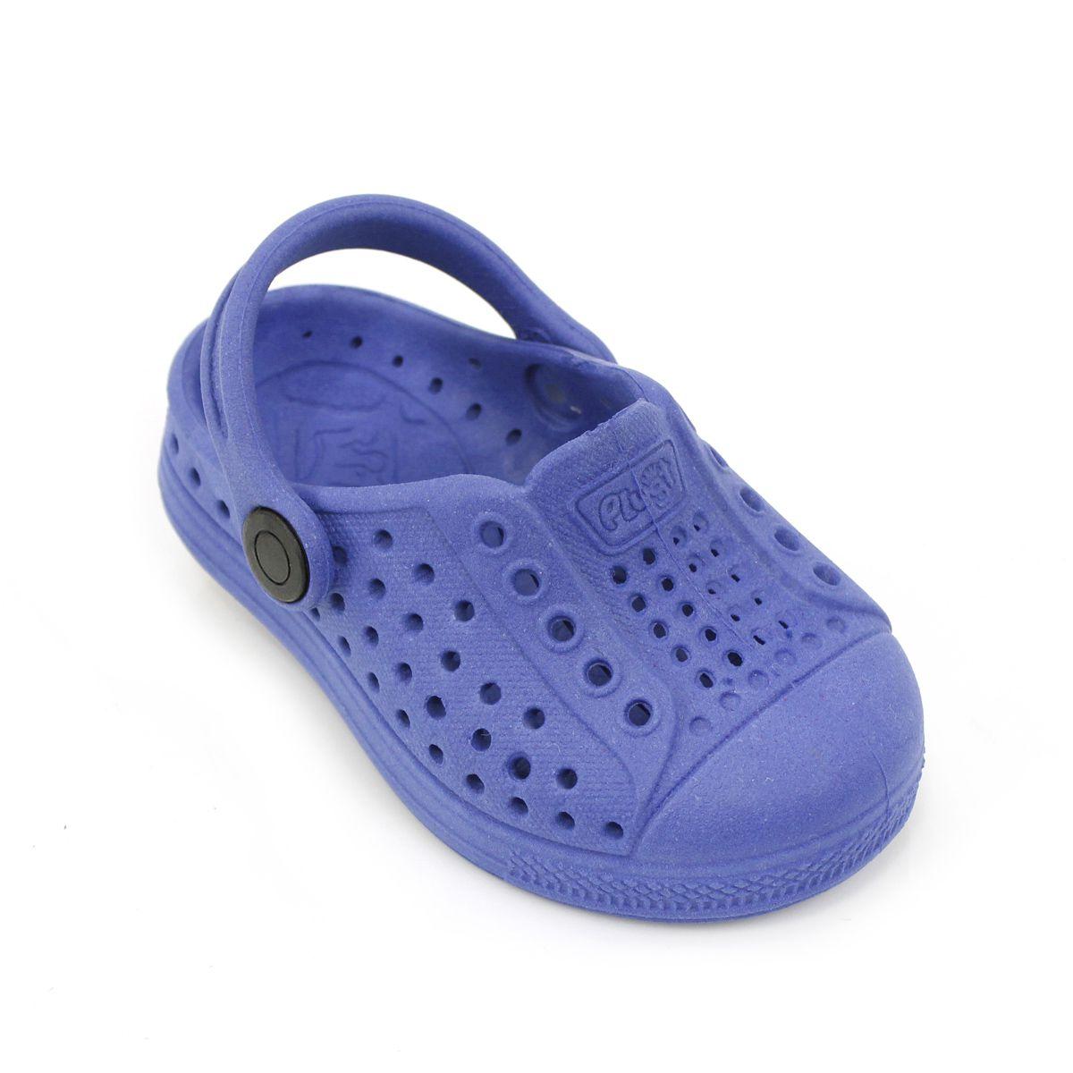 Babuche Sandália Plugt Joy Eco Liso Azul