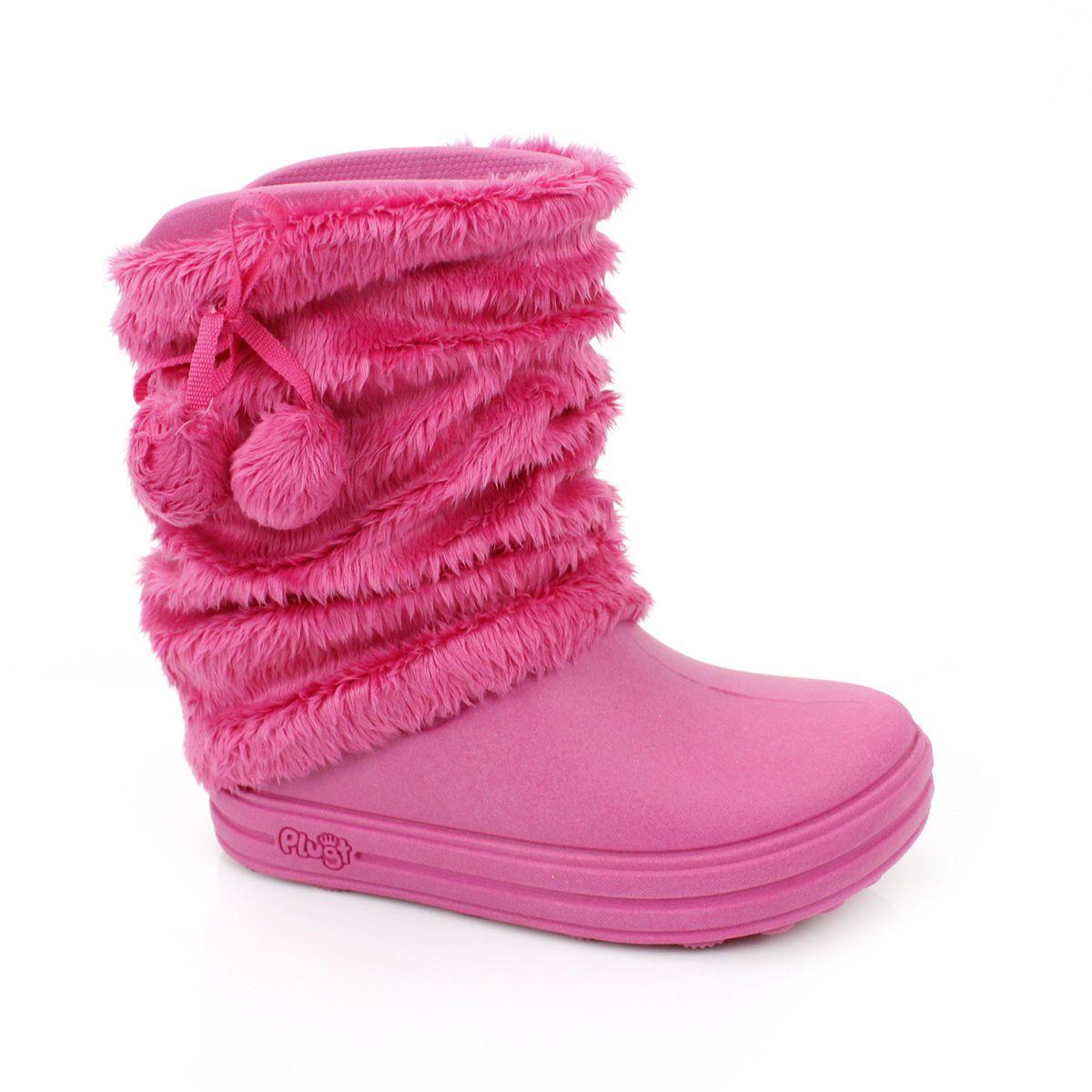 Galocha Plugt Acqua Polaina Infantil Pink