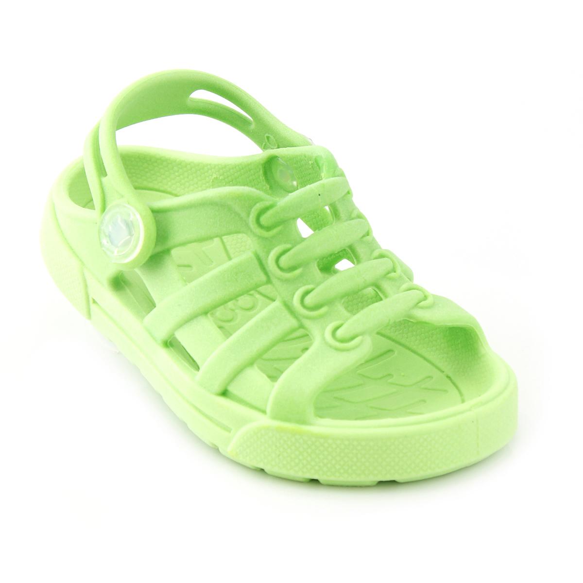 Sandália Babuche Plugt Dude Verde Neon