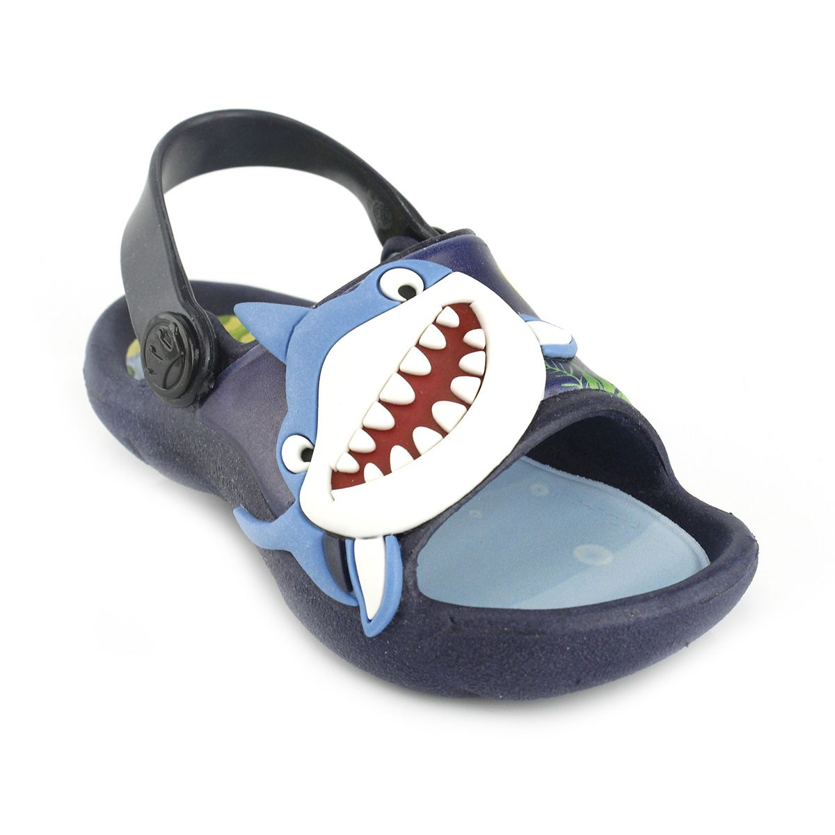 Sandália Plugt Bichinho Tubarão Azul