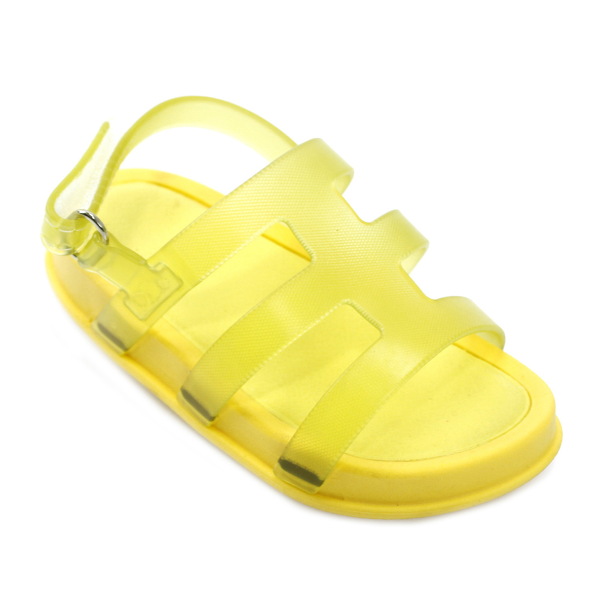 Sandália Plugt Mini Bizz Básica Amarelo