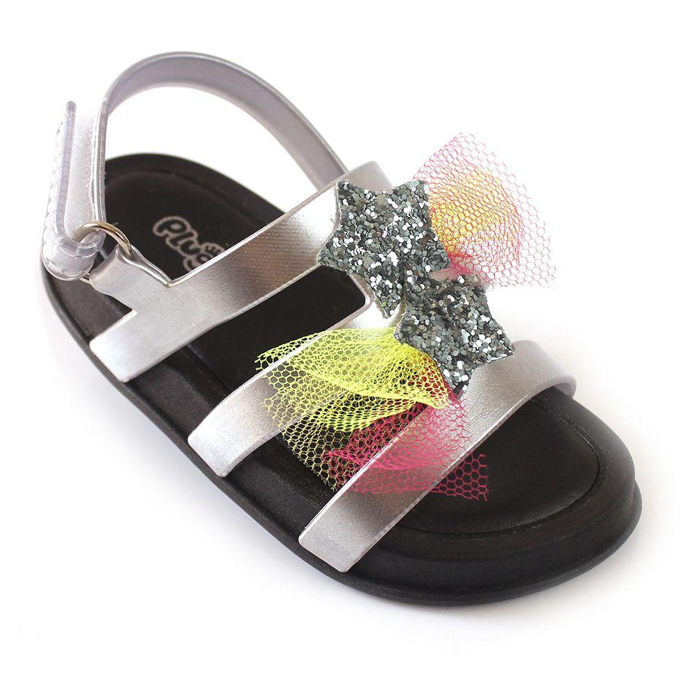 Sandália Plugt Mini Bizz Estrelas