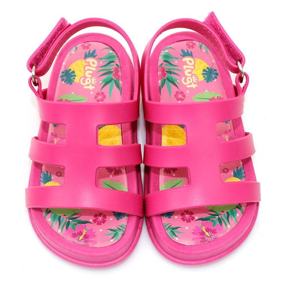 Sandália Plugt Mini Bizz Tropical Infantil