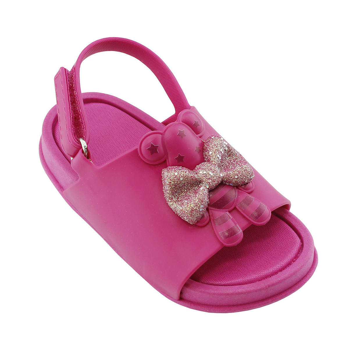 Sandália Plugt Mini Bizz Ursinho Pink