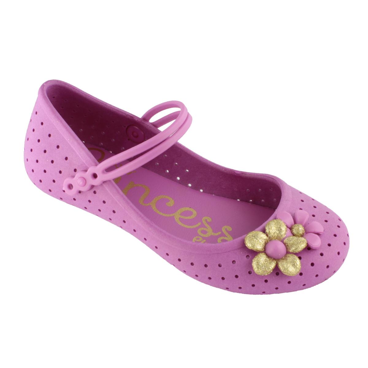 Sapatilha Plugt Luna Flores Pink