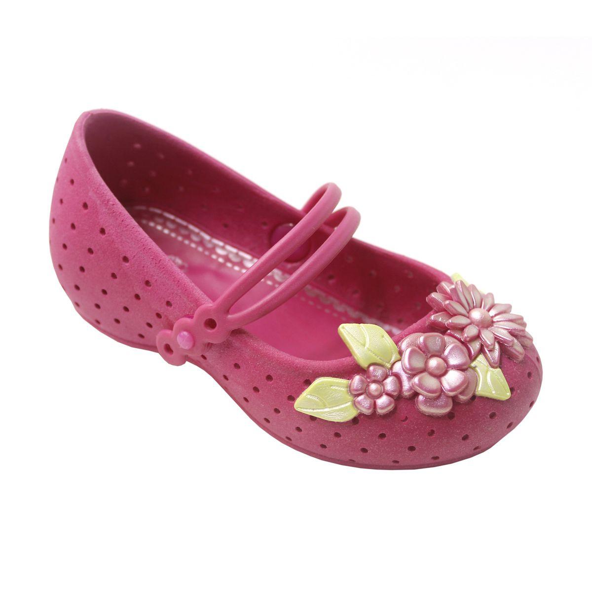 Sapatilha Plugt Nina Jardim Flores Pink