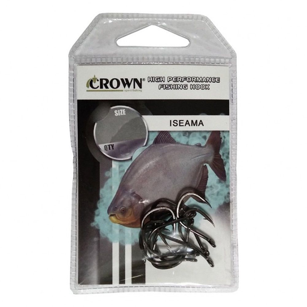 Anzol Crown Iseama Sure - Tamanho 13