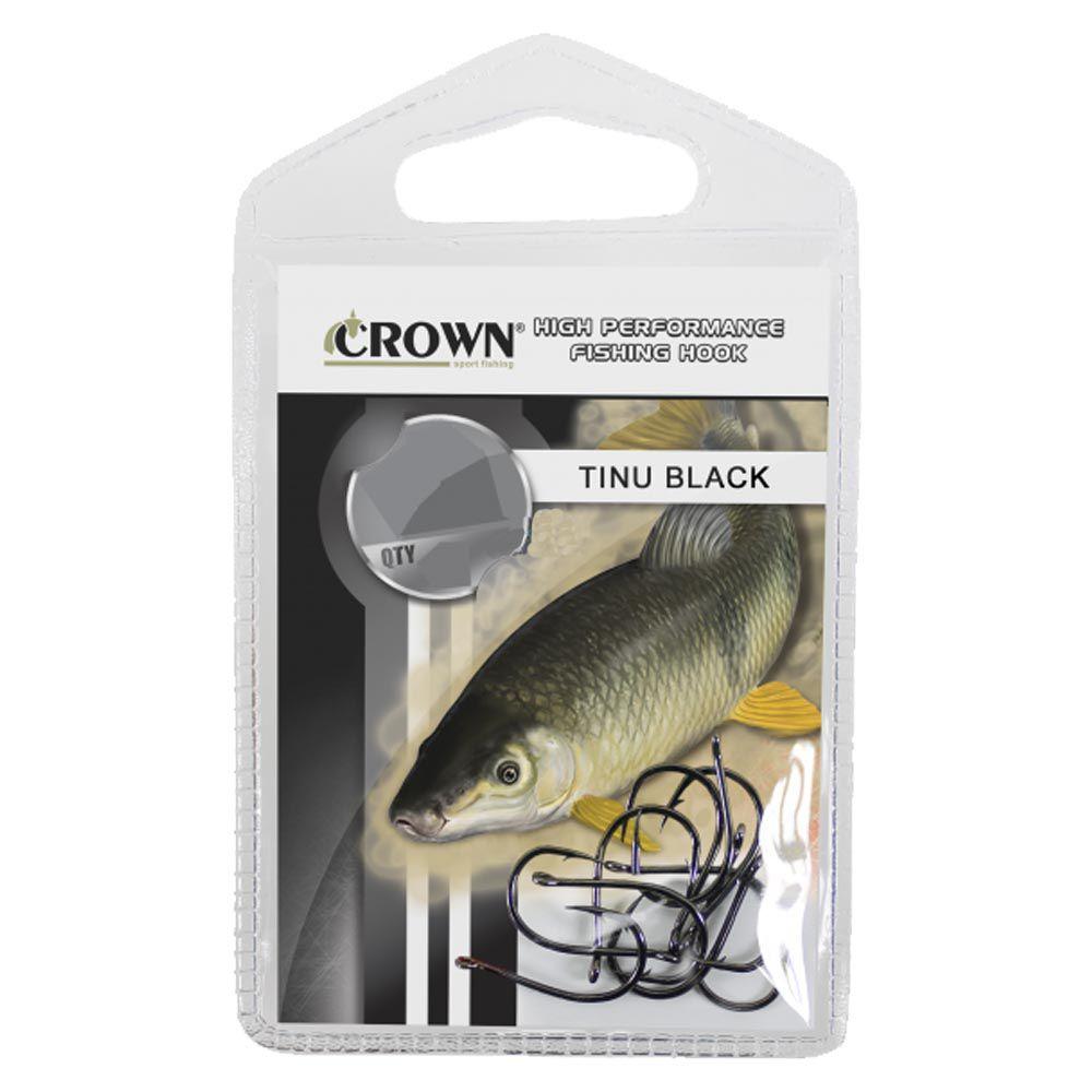 Anzol Crown Tinu Black Tamanho 06