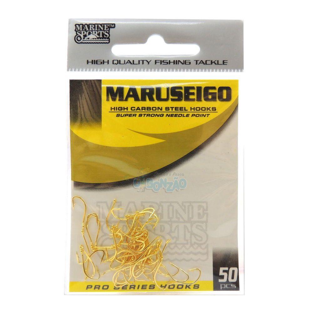 Anzol Maruseigo Gold N8 C/50 Un - Marine Sports