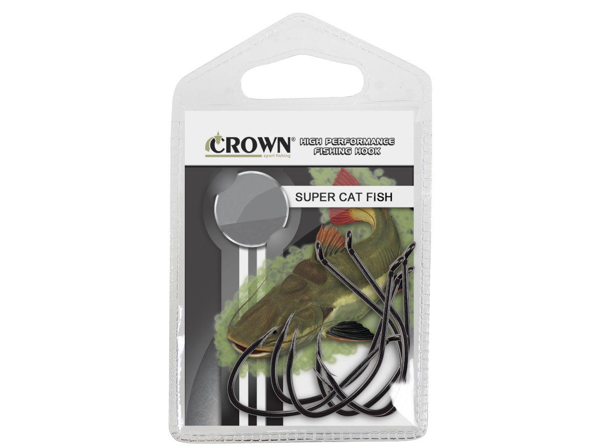Anzol Crown Super Cat Fish - 5 Unidades