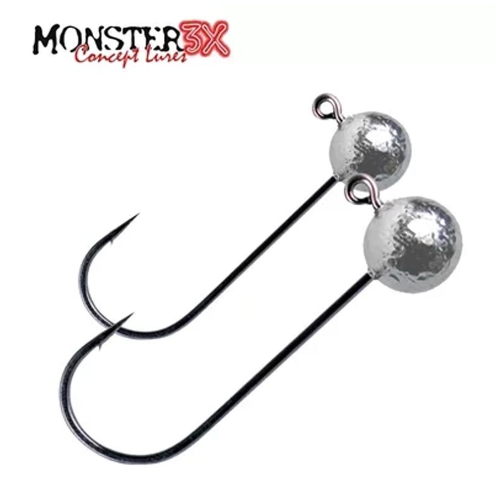 Anzol X-Hook Monster 3x - 3/0 - 4,5g