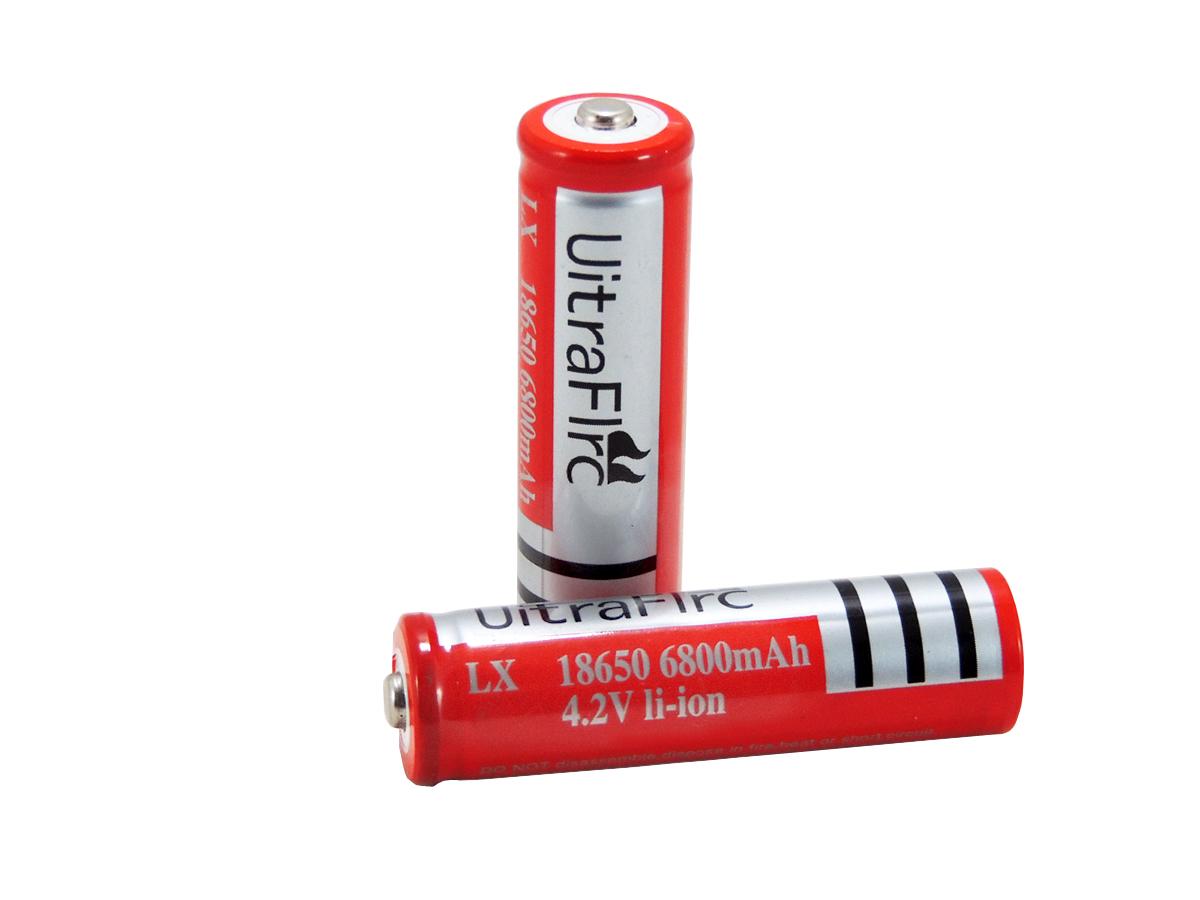 Bateria Recarregável Blindada Uitra Flrc 18650