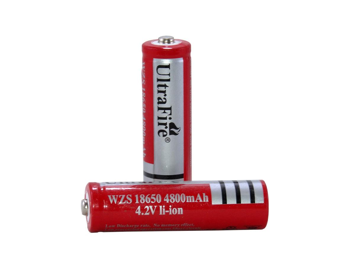 Bateria Recarregável Blindada Ultra Fire 18650
