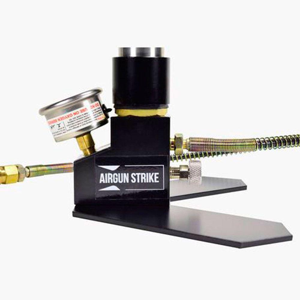 Bomba de Ar Manual Airgun Strike com Manômetro para armas PCP B20