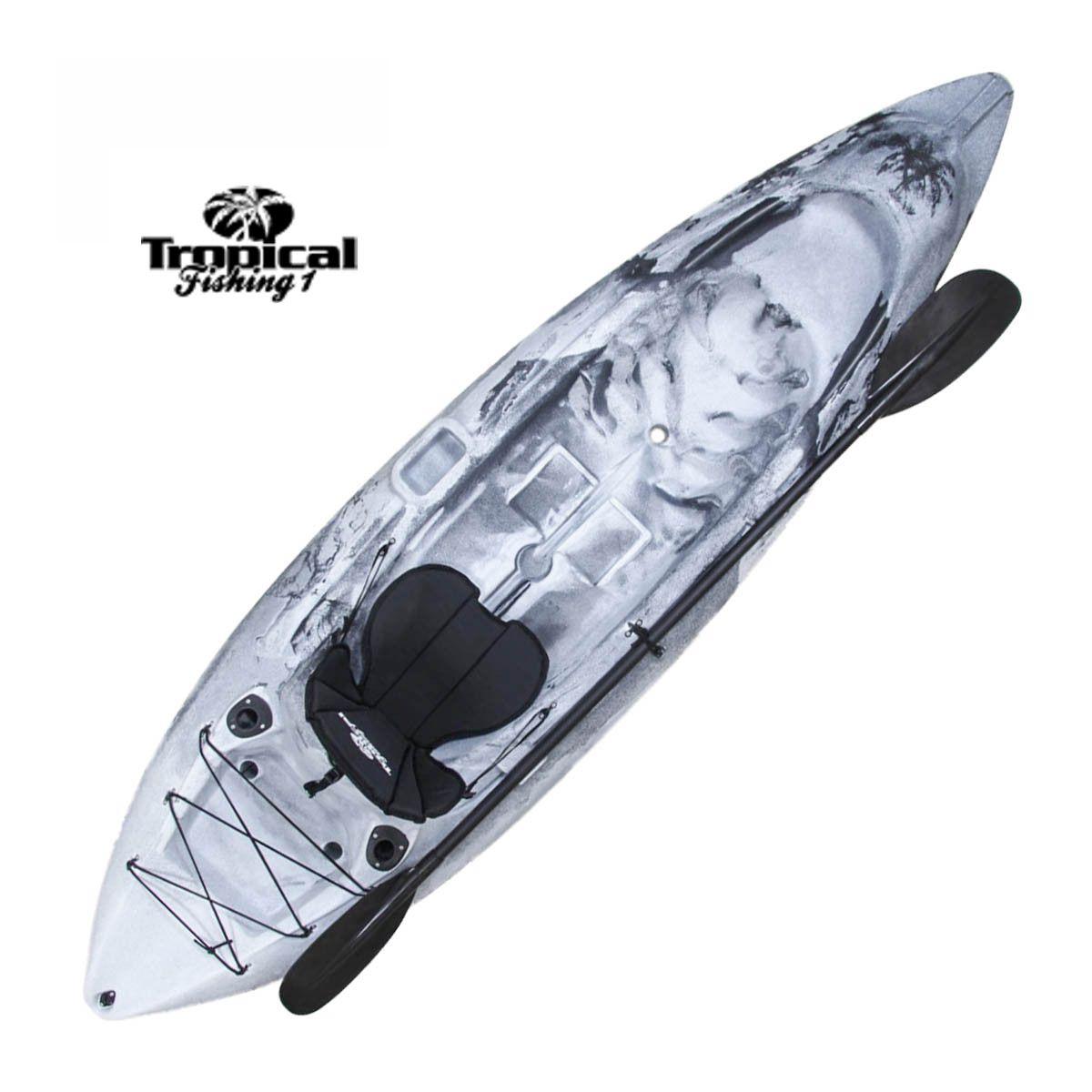 Caiaque Brudden Tropical Fishing - Bege com Preto