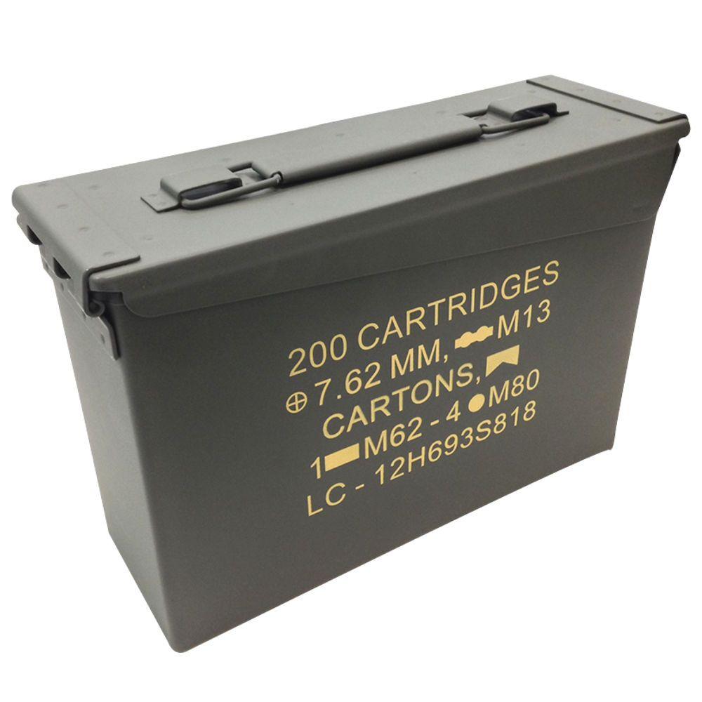 Caixa Cofre P/ Munição E Acessórios Ammo Box 7.62mm - Ntk Nautika
