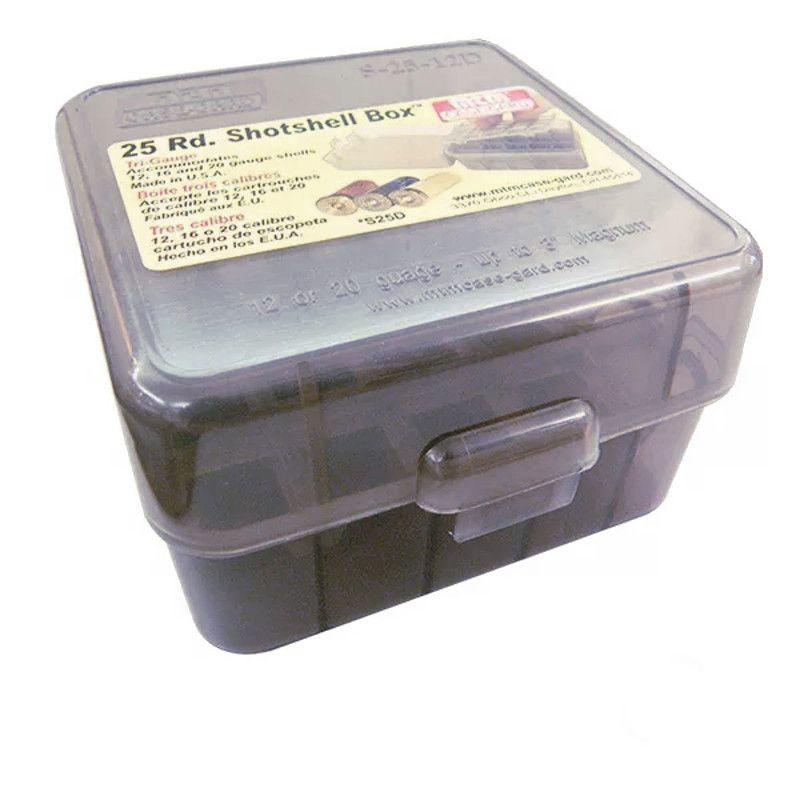 Caixa MTM para Armazenamento de Cartuchos - Cal. 12 Ao 20