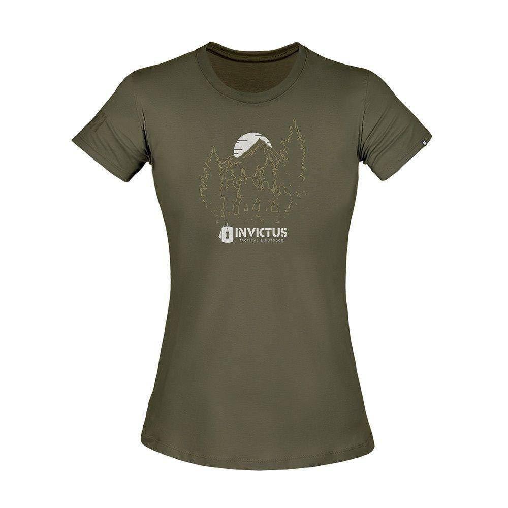 Camiseta Feminina Invictus T-Shirt Concept Troop