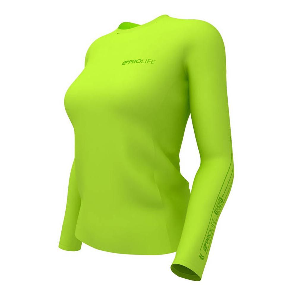 Camiseta Prolife Sun Protect Fps 50+ - Amarelo Feminina