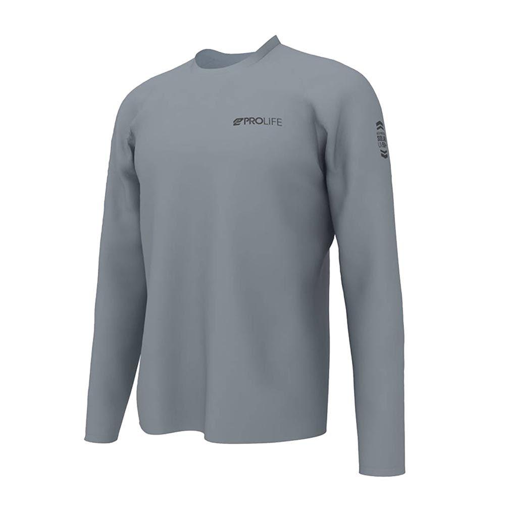 Camiseta Prolife Sun Protect Fps 50+ - Cinza