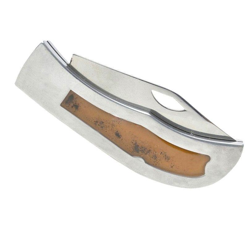 "Canivete Aventura Alumínio/Gel 3"" c/ Clip - Bianchi"