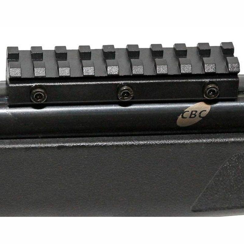 Carabina de Pressão CBC Jade Mais 5,5mm - Preta