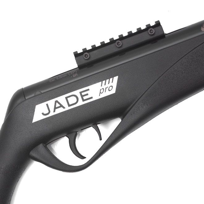 Carabina de Pressão CBC Jade PRO 4,5mm Oxidada Preta