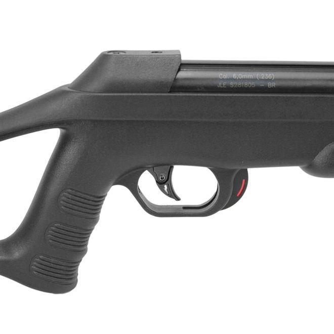 Carabina de Pressão CBC Nitro Six 6.0mm Oxidada