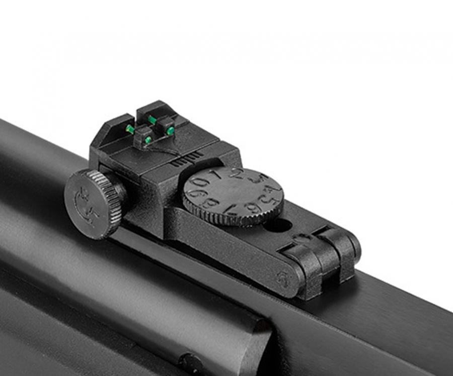 Carabina de Pressão Hatsan Striker Edge GR Magnum 5.5mm - Gás Ram + Óculos proteção