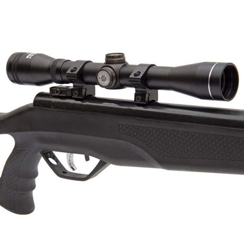 Carabina de Pressão Rossi SAG R1000 5,5mm Oxidada Gás Ram + Luneta 4x32 + Óculos de Proteção