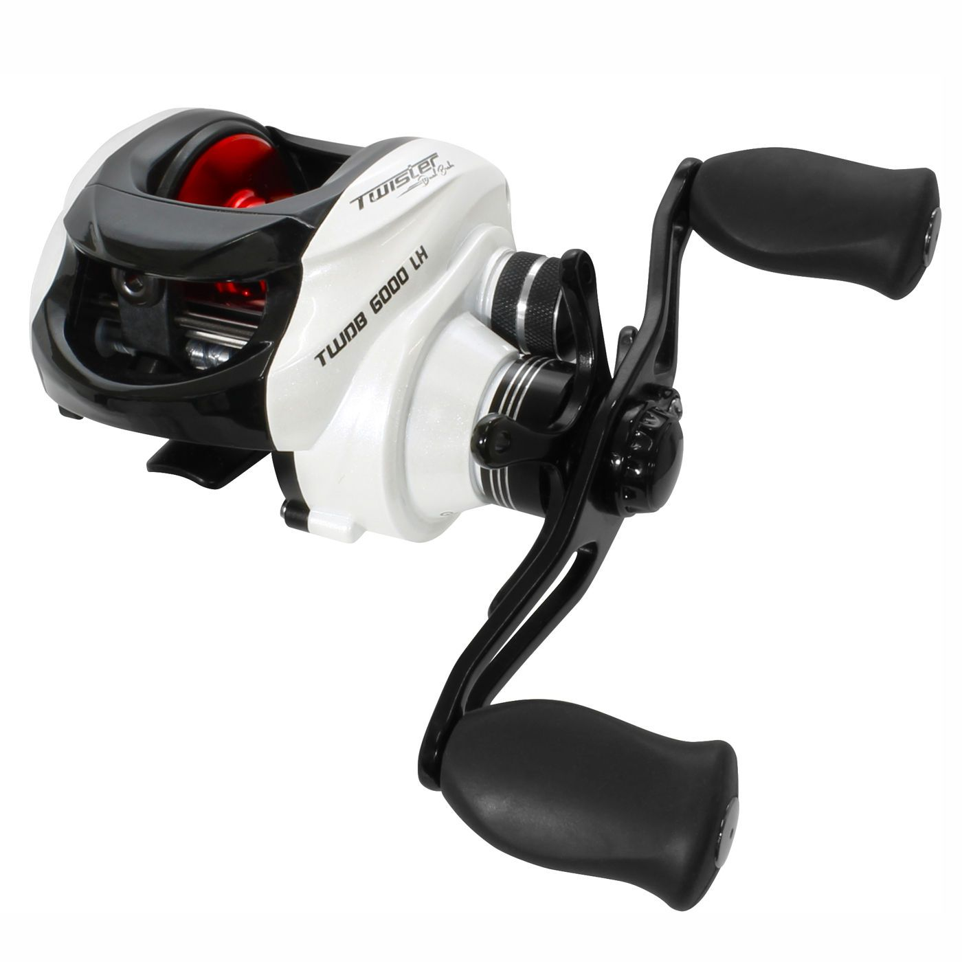 Carretilha Saint Plus Twister Dual Brake 6000LH Esquerda - 6 Rolamentos