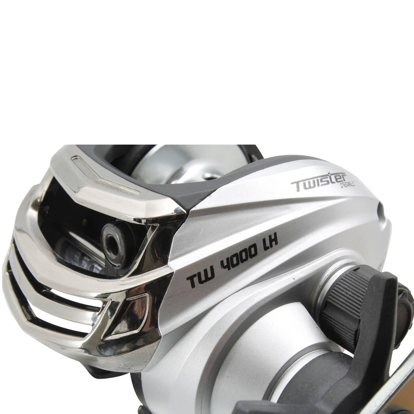 Carretilha Saint Plus Twister TW 4000LH Esquerda - 4 Rolamentos