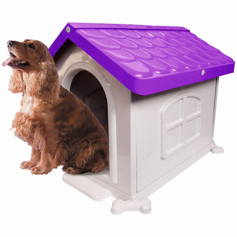 Casinha de Cachorro Medio Desmontável Nº 3 Pet Injet - Lilás