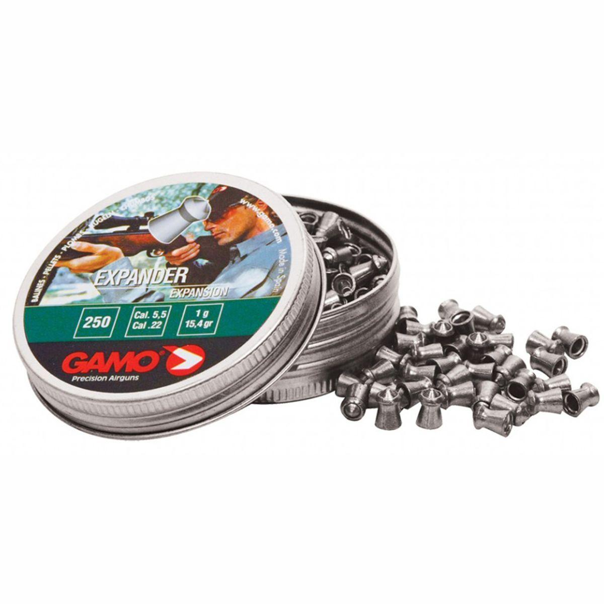 Chumbinho Gamo Expander Expansion Cal. 5,5mm - 250 unidades
