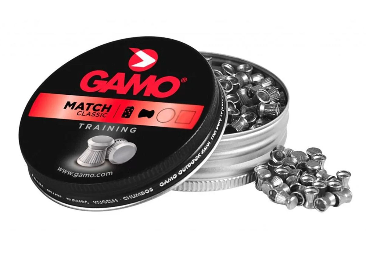 Chumbinho Gamo Match Classic Training Cal. 5,5mm - 250 unidades