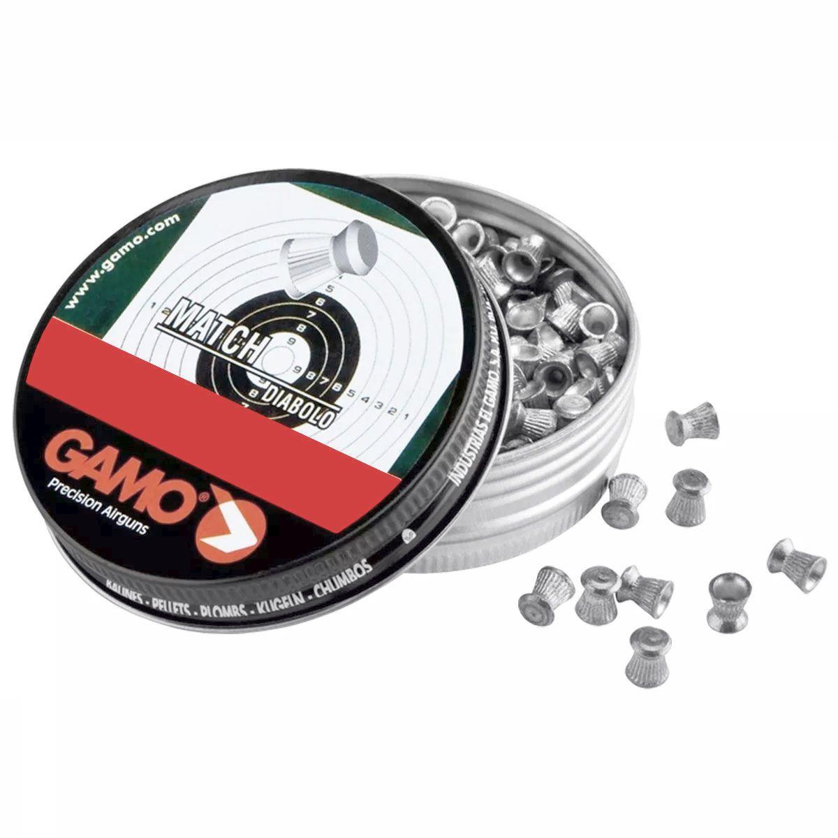 Chumbinho Gamo Match Diabolo Cal. 4,5mm - 250 unidades