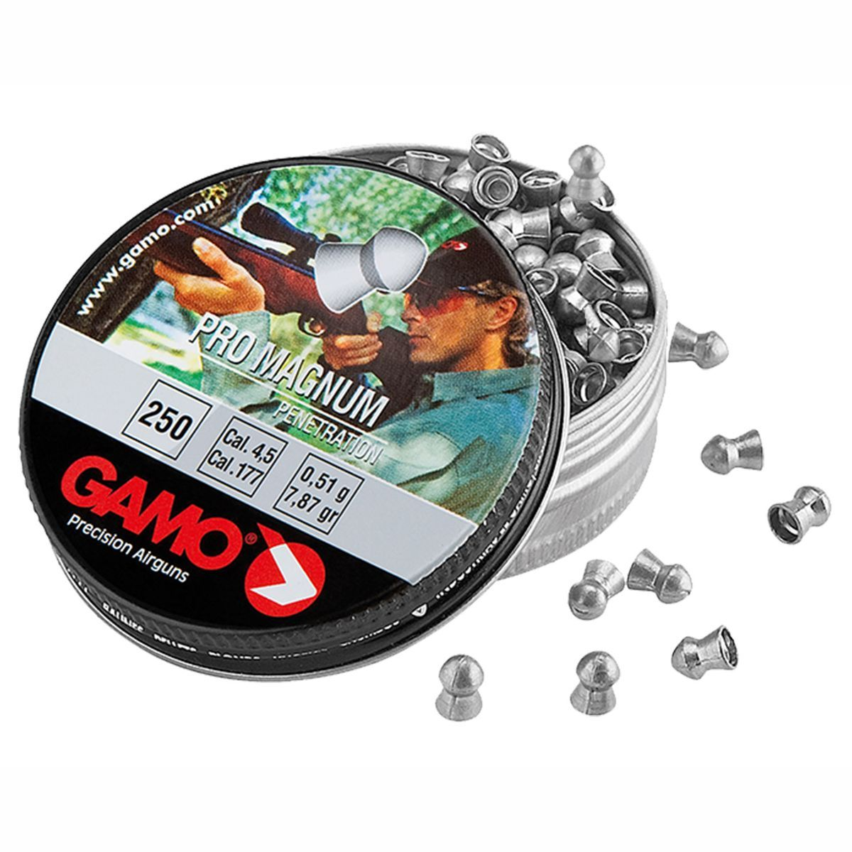 Chumbinho Gamo Pro Magnum Penetration Cal. 5,5mm - 250 unidades