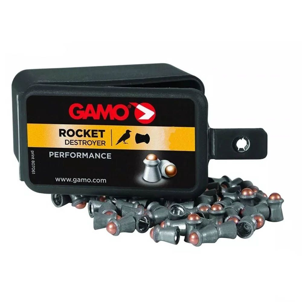 Chumbinho Gamo Rocket Destroyer Performance Cal. 5,5mm - 100 unidades