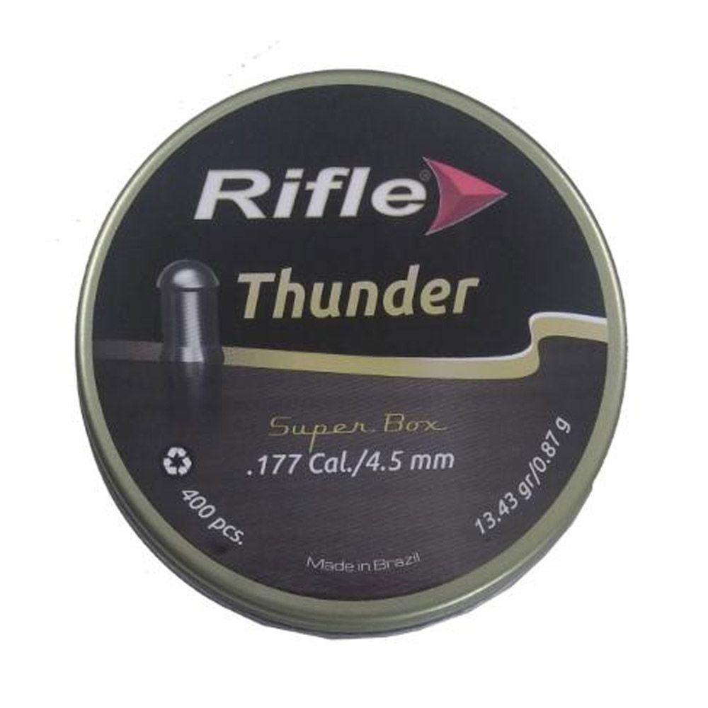 Chumbinho Rifle Thunder 4,5mm - 400 unidades