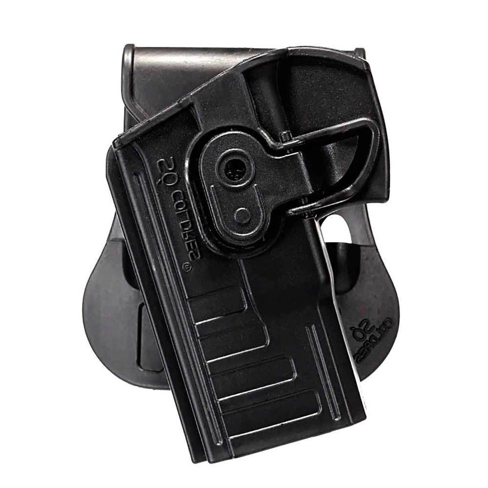 Coldre Cintura com Trava Pistola Taurus Pt24/7 838-840 SC043C Canhoto