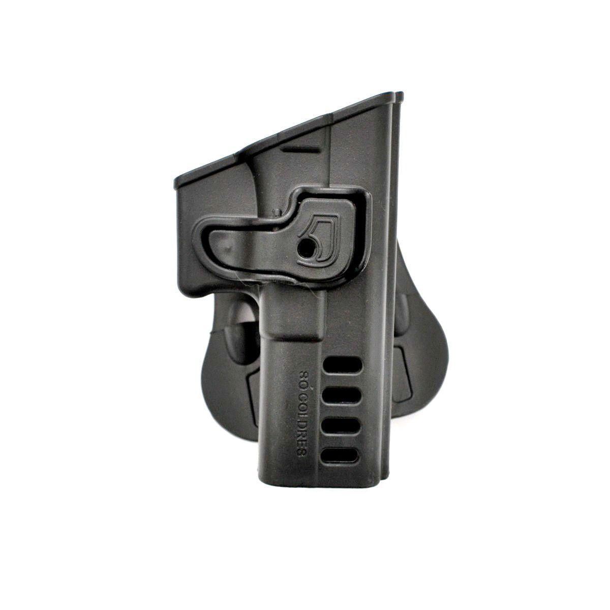 Coldre Polímero Só Coldre P/ Glock G17/G22 (GEN4) - SC110 Destro