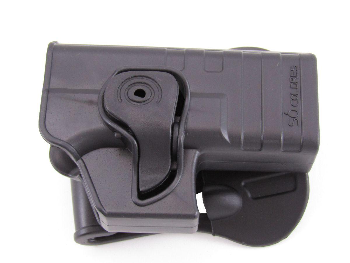 Coldre Polímero Só Coldres P/ Glock G25 - SC004D