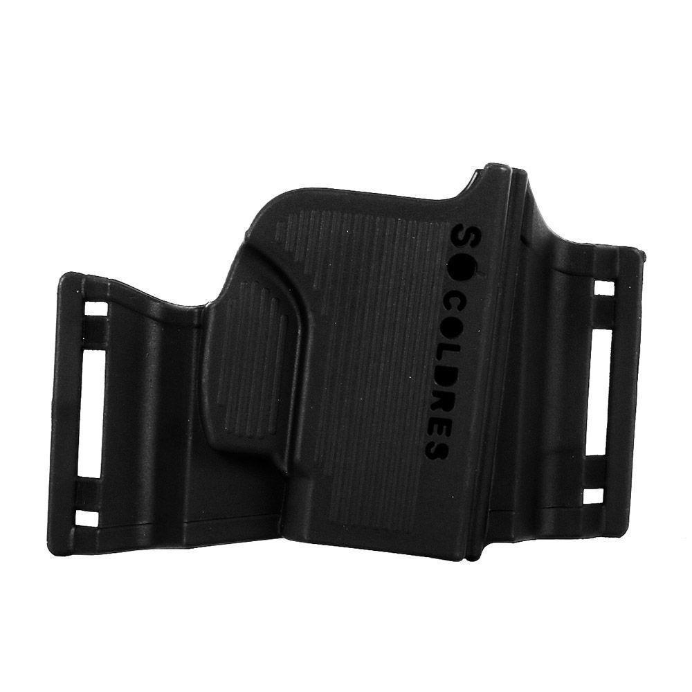 Coldre Polímero Só Coldres Panqueca Taurus e Glock - Canhoto - SC061C