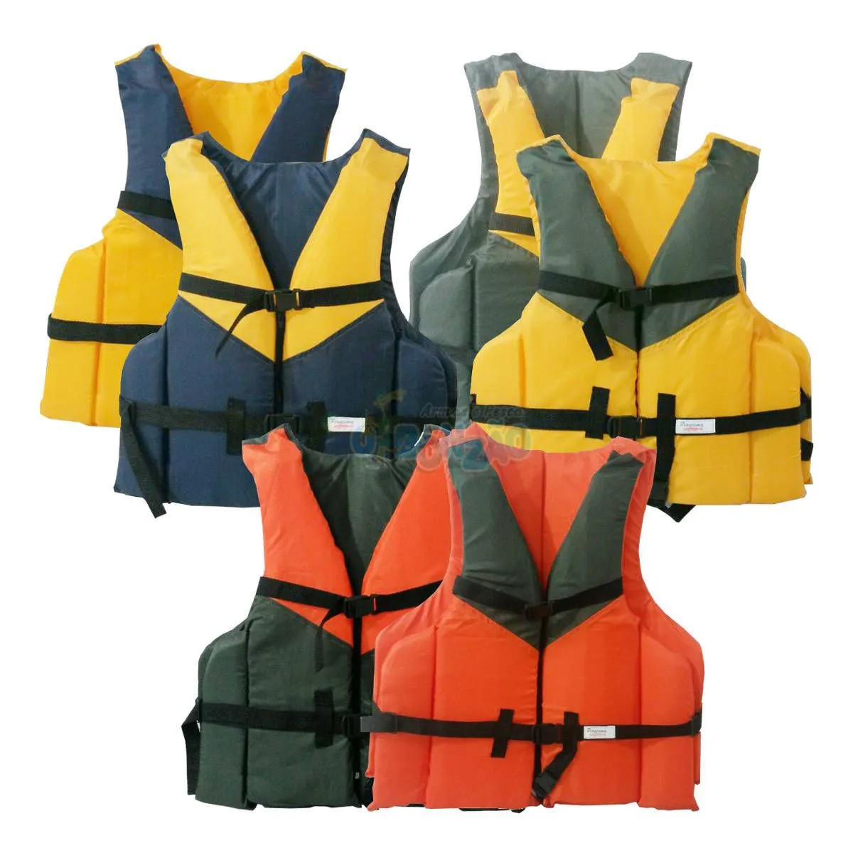 Colete Auxiliar de Flutuação Piracema Varias Cores 60Kg