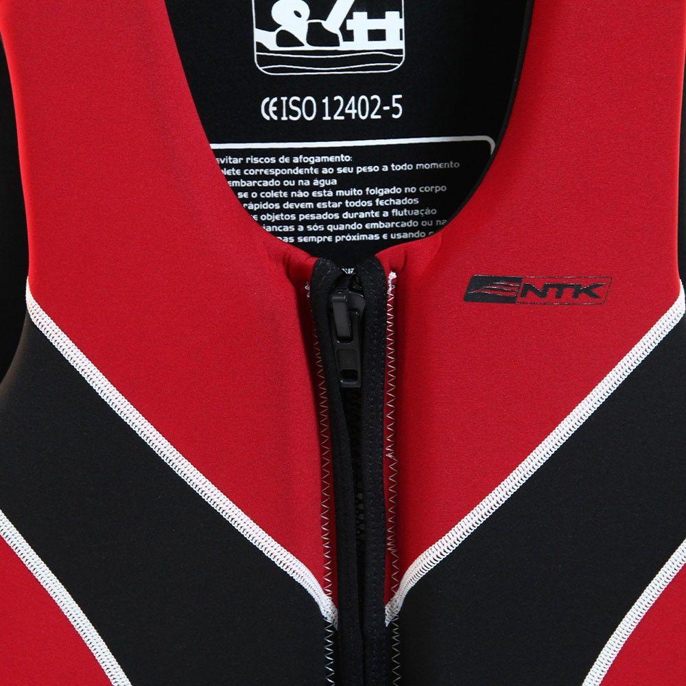 Colete Salva Vidas Ntk Ventura XXL 80-100kg - Vermelho
