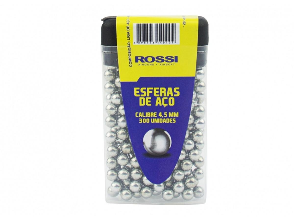 Esferas de Aço Rossi 4,5mm - 300 unidades