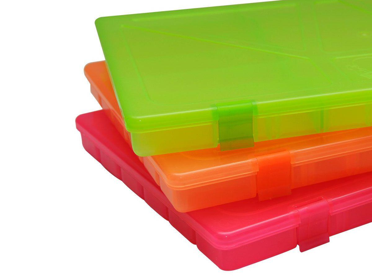 Estojo Box 23 Rochel Pesca Color Flur - 22 Divisões