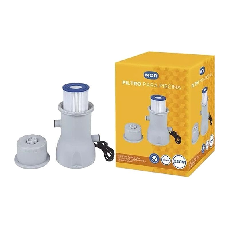 Filtro Completo para Piscina 3600 L/hora 220v - Mor