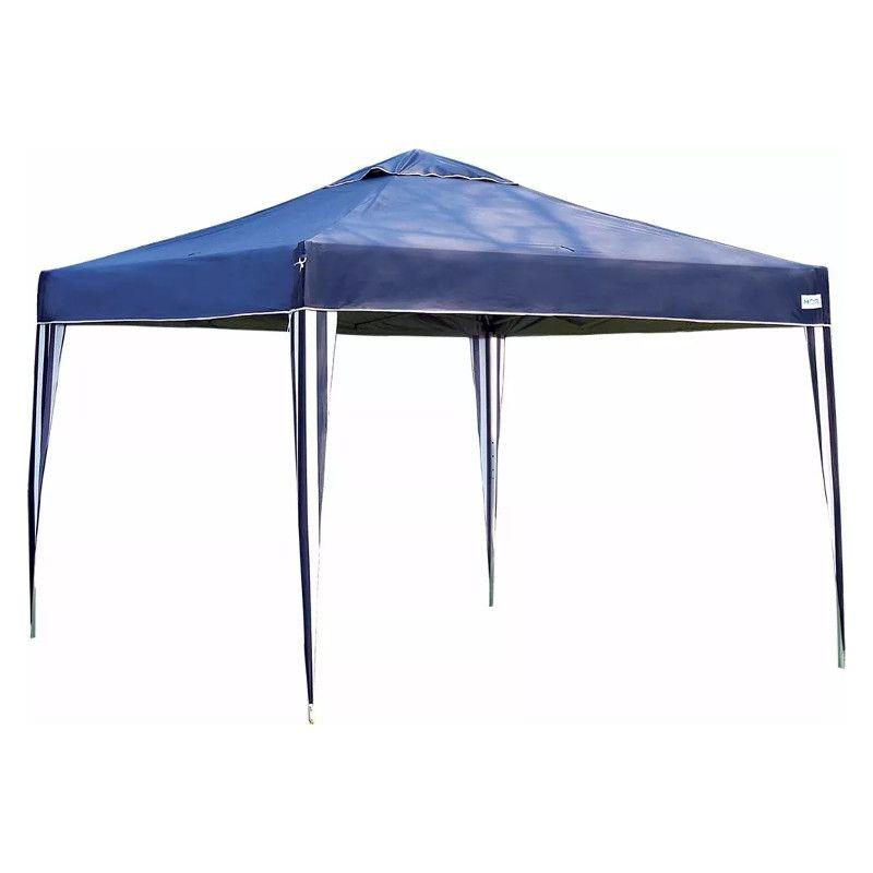 Gazebo Dobrável (Sanfonado) X-Flex 3x3 Azul - Mor